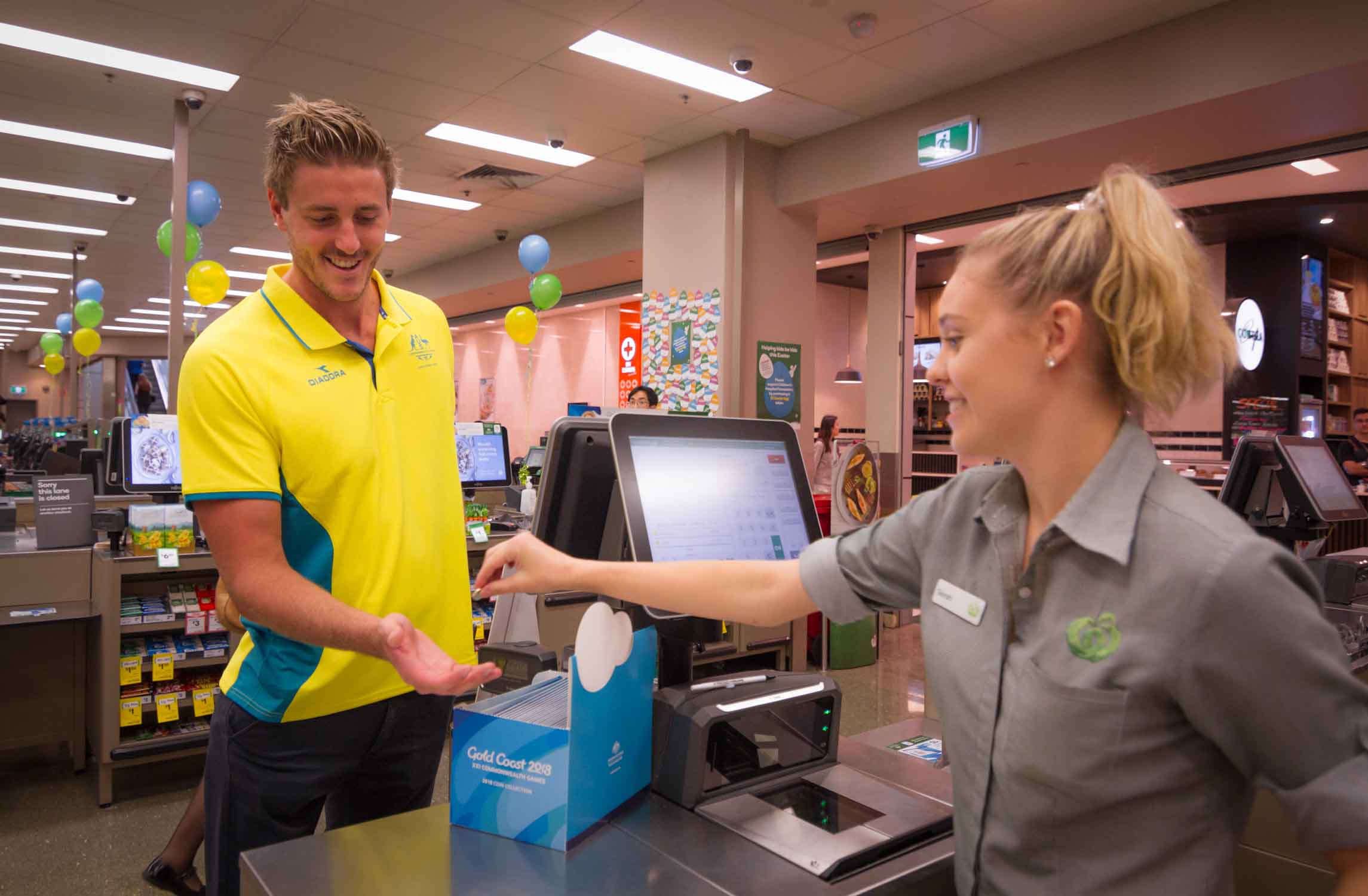 Gold Coast 2018 Commonwealth Games Coin Collection Launch at Woolworths (12 of 17).jpg